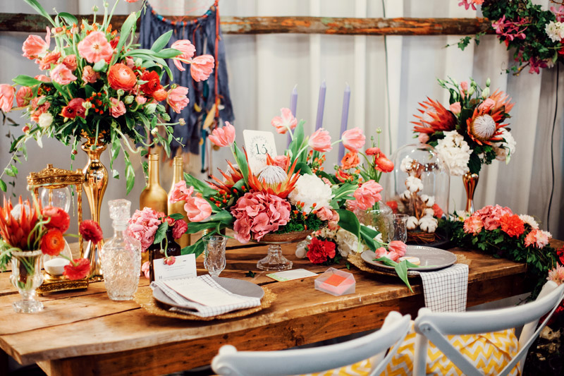 Photo by Funkydali and NDrew Photography. Styling by The Peak Xperience. www.theweddingnotebook.com