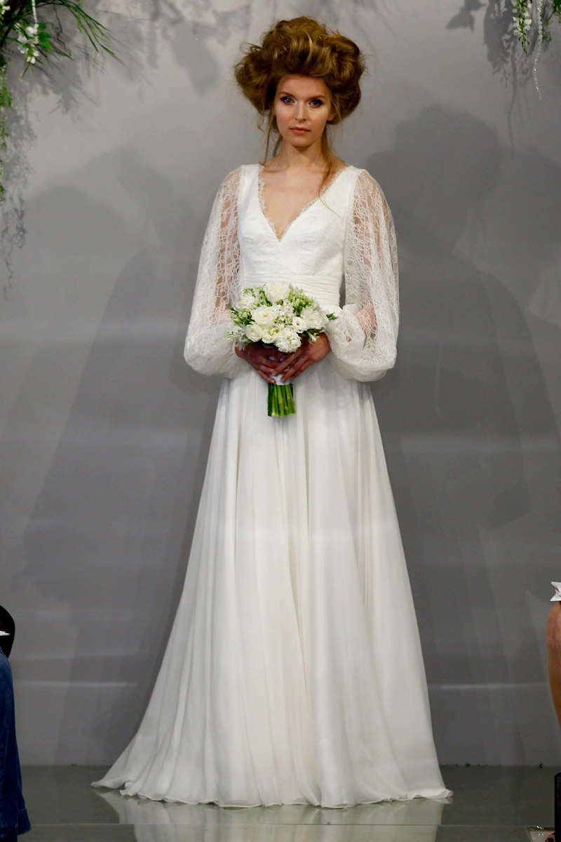 Belle - Theia Spring 2016 Bridal Collection. www.theweddingnotebook.com