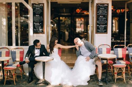 Destination bridal portraits in Paris. Photo by Adam Ong Photography. www.theweddingnotebook.com