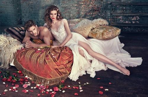 Galia Lahav Spring 2016 Bridal Collection. www.theweddingnotebook.com