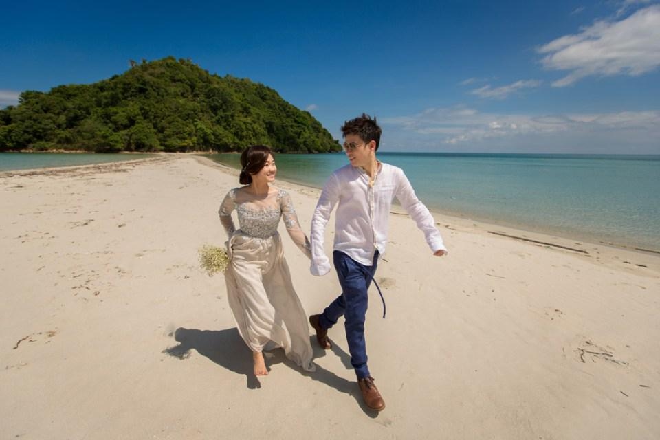 Bridal portraits in Sabah. Jon. C Photography
