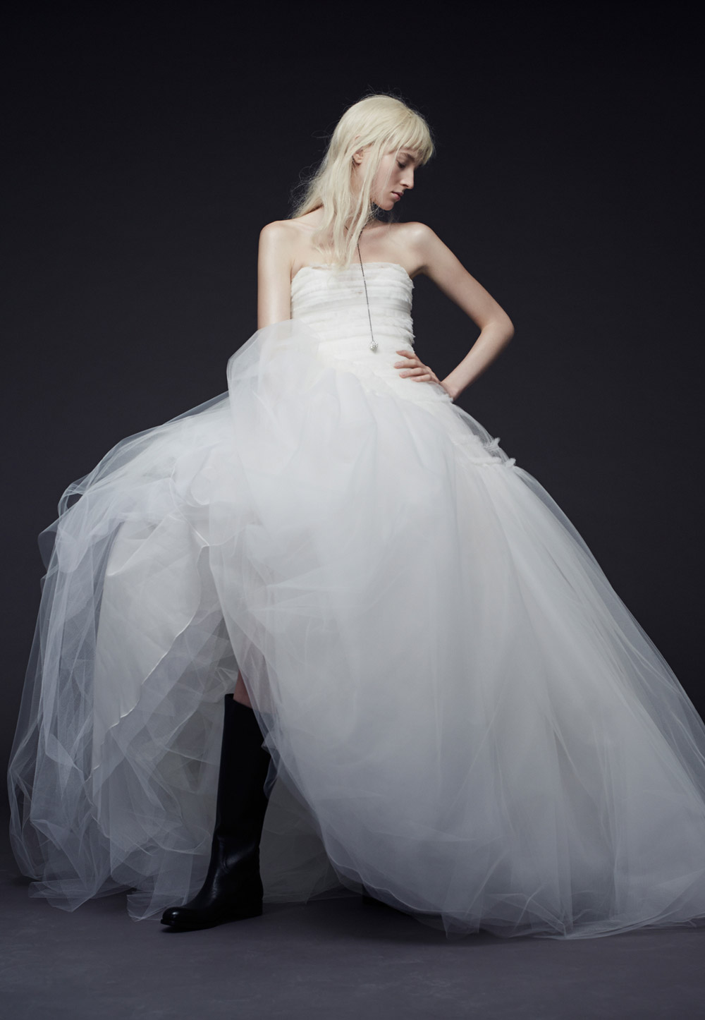Patricia – Vera Wang Fall 2015 Collection. www.theweddingnotebook.com