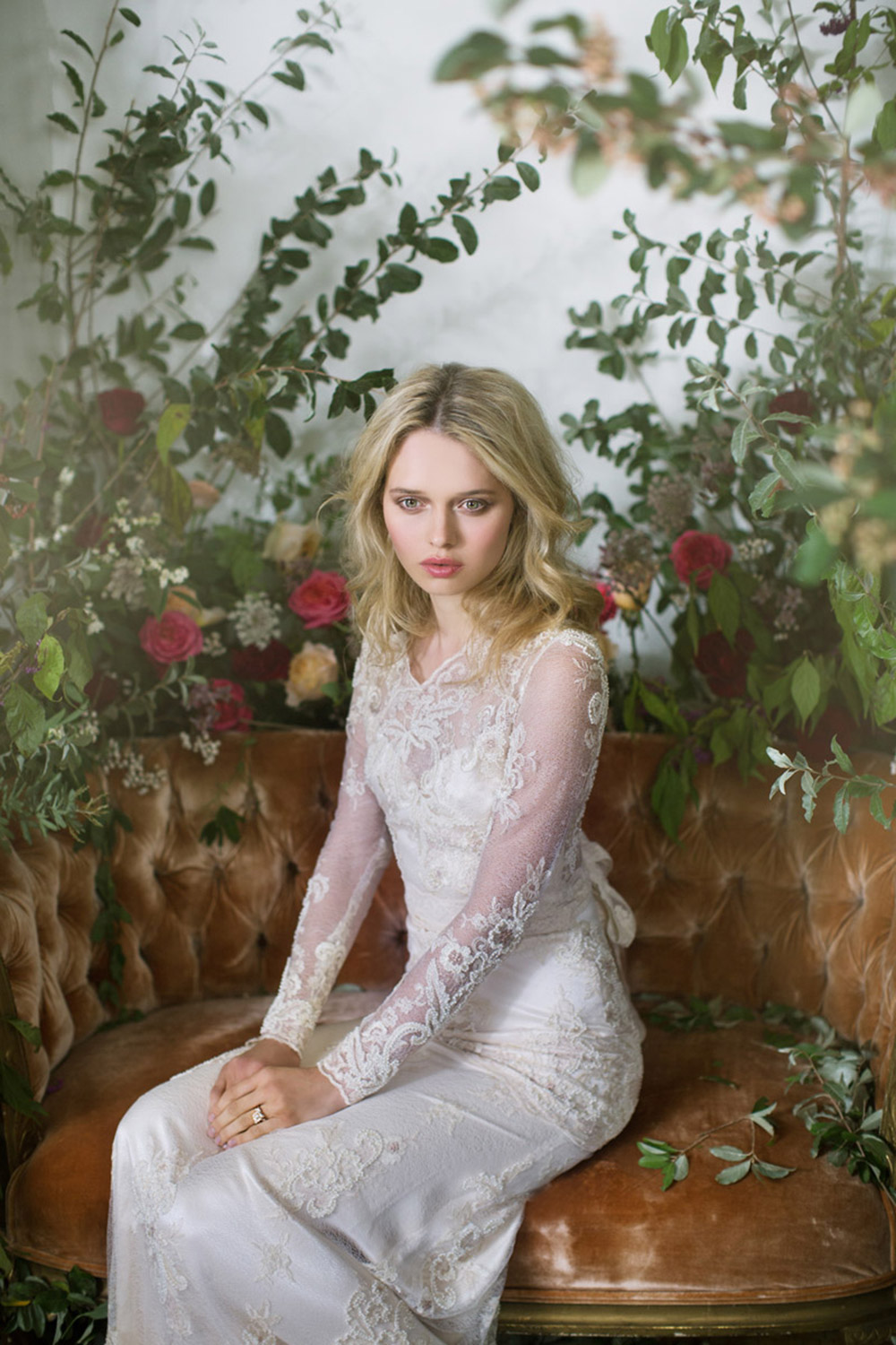 Pearle - Claire Pettibone Fall 2016 Bridal Collection. www.theweddingnotebook.com