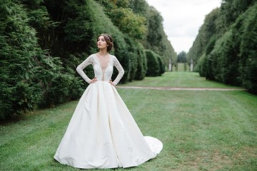 Laylee - Sareh Nouri Fall 2016 Collection. www.theweddingnotebook.com