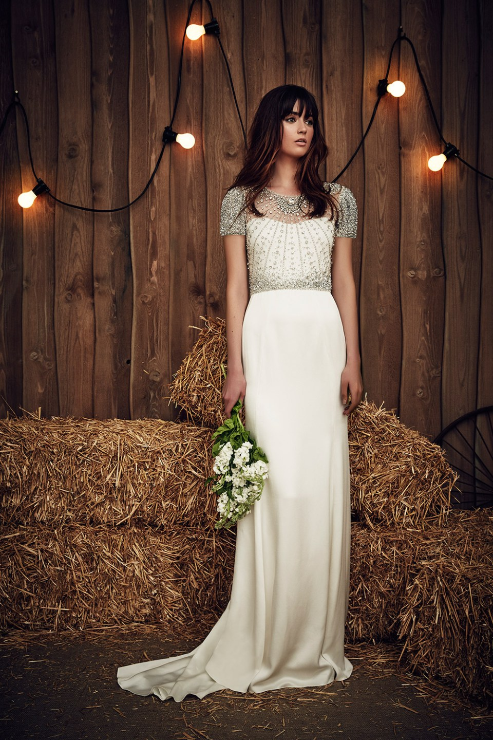 Carrie - Jenny Packham 2017 Bridal Collection. www.theweddingnotebook.com