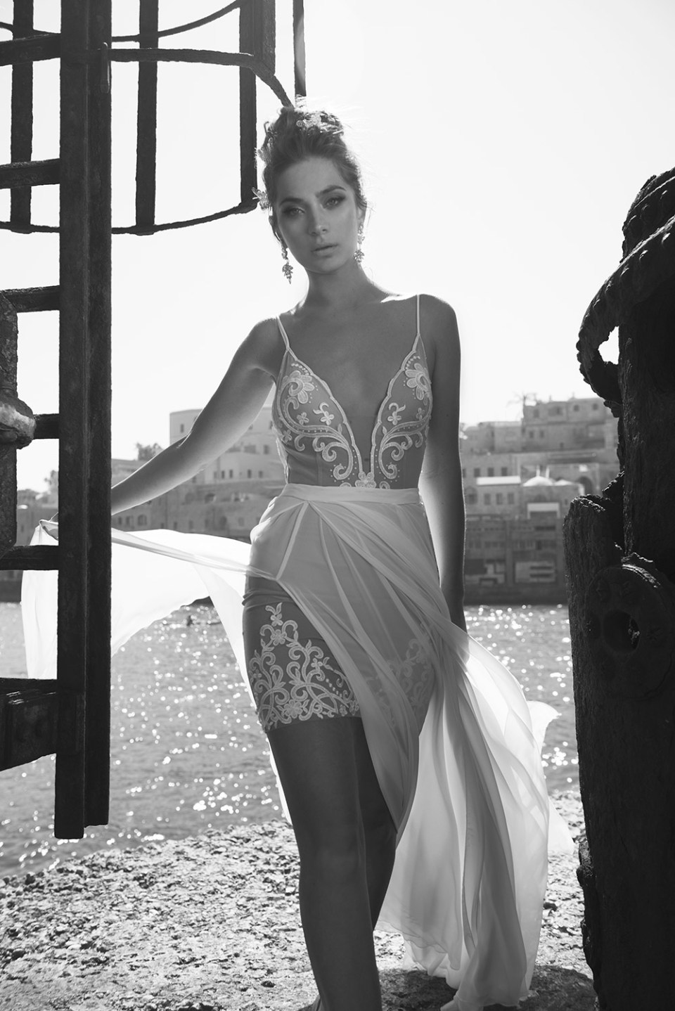A&J Designers by Adi Shiomo and Julie Vino 2016 Bridal Collection. www.theweddingnotebook.com