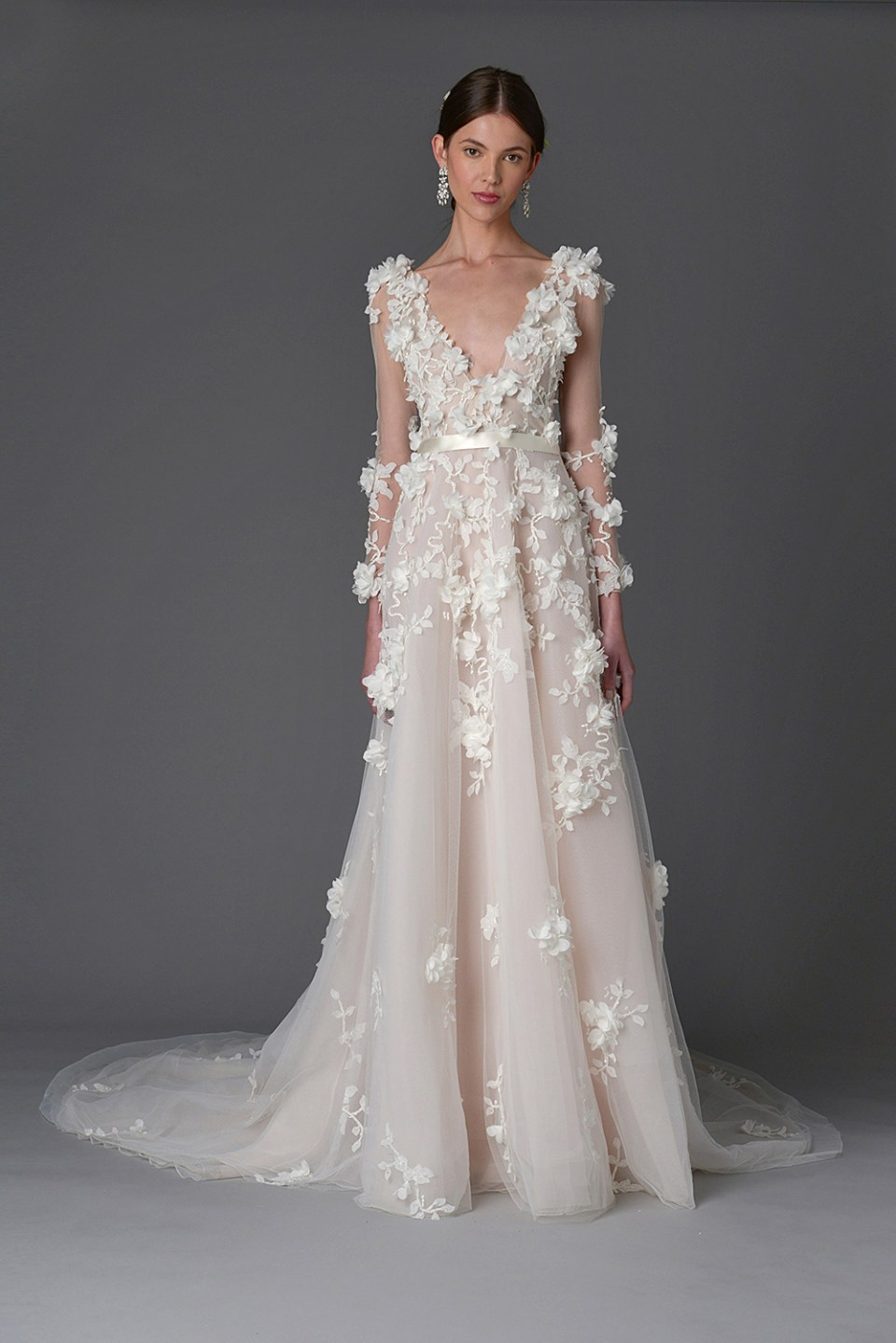 Orchid - Marchesa Spring 2017 Bridal Collection. www.theweddingnotebook.com