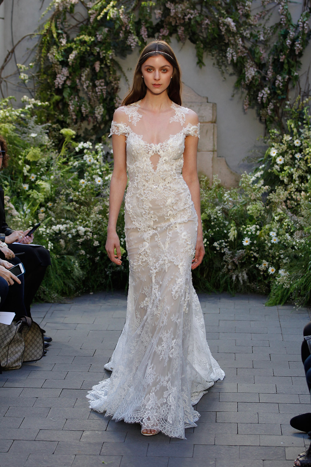 Geneva - Monique Lhuillier Spring 2017 Bridal Collection. www.theweddingnotebook.com
