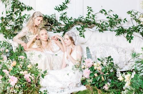 Claire Pettibone 2017 Bridal Collection. Photo by Kayla Barker. www.theweddingnotebook.com