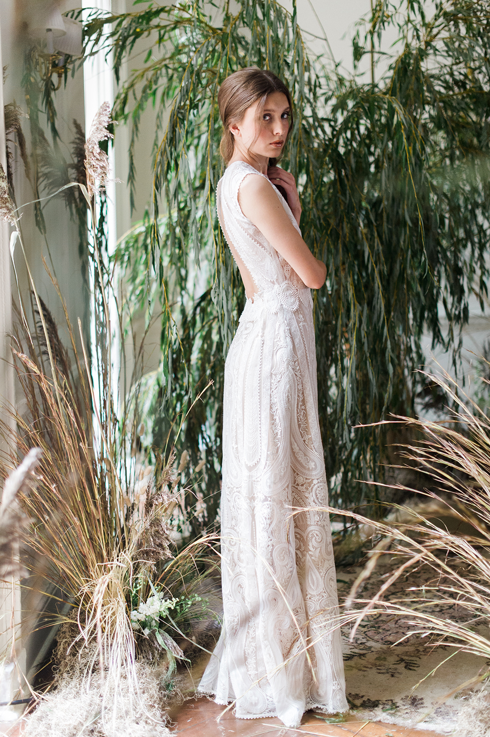 Solstice - Claire Pettibone 2017 Bridal Collection. Photo by Judy Pak. www.theweddingnotebook.com