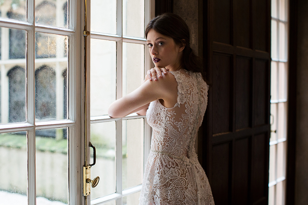 Snow - Claire Pettibone 2017 Bridal Collection. Photo by Sarah Kate. www.theweddingnotebook.com