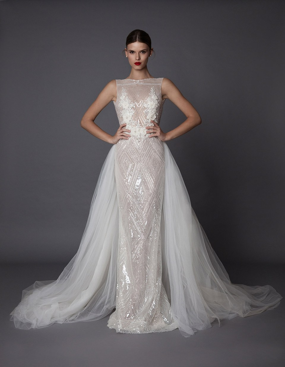 Annora - Muse by Berta Fall 2017 Collection. www.theweddingnotebook.com