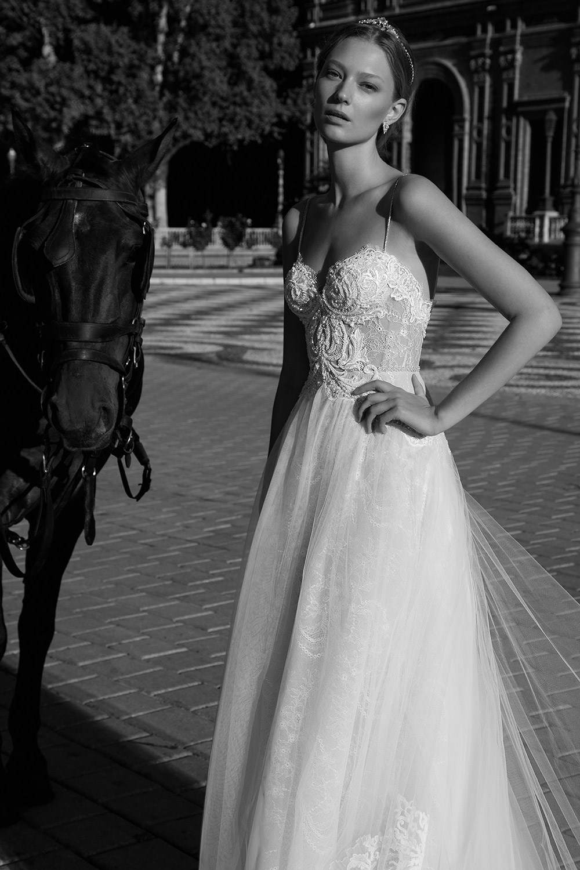 BETH - Alon Livne 2017 Bridal Collection. www.theweddingnotebook.com