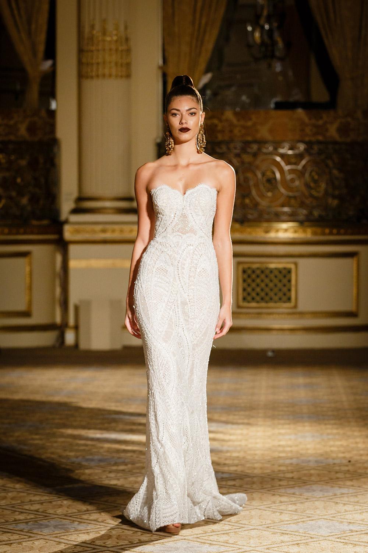 Berta Bridal Spring 2018 Collection. www.theweddingnotebook.com