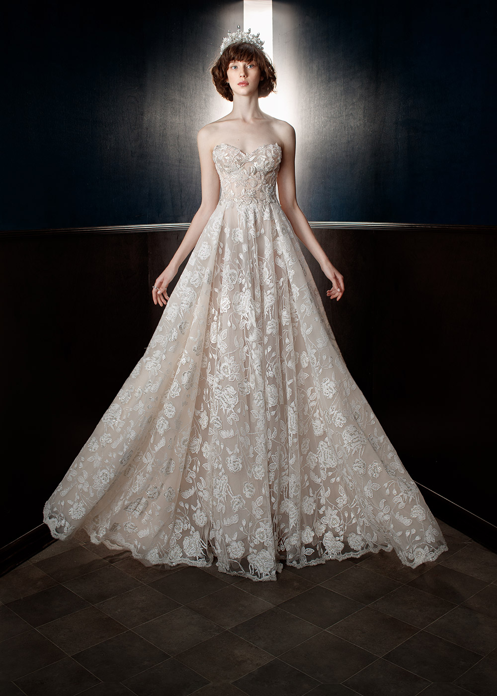 Georgia - Galia Lahav Spring 2018 Bridal Collection. www.theweddingnotebook.com