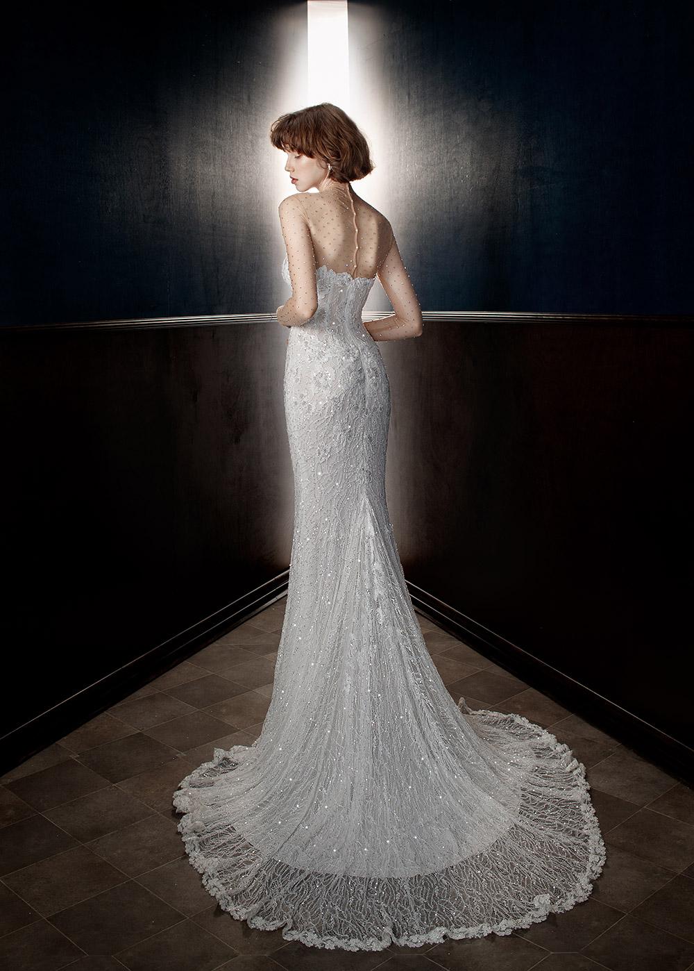 Inez - Galia Lahav Spring 2018 Bridal Collection. www.theweddingnotebook.com