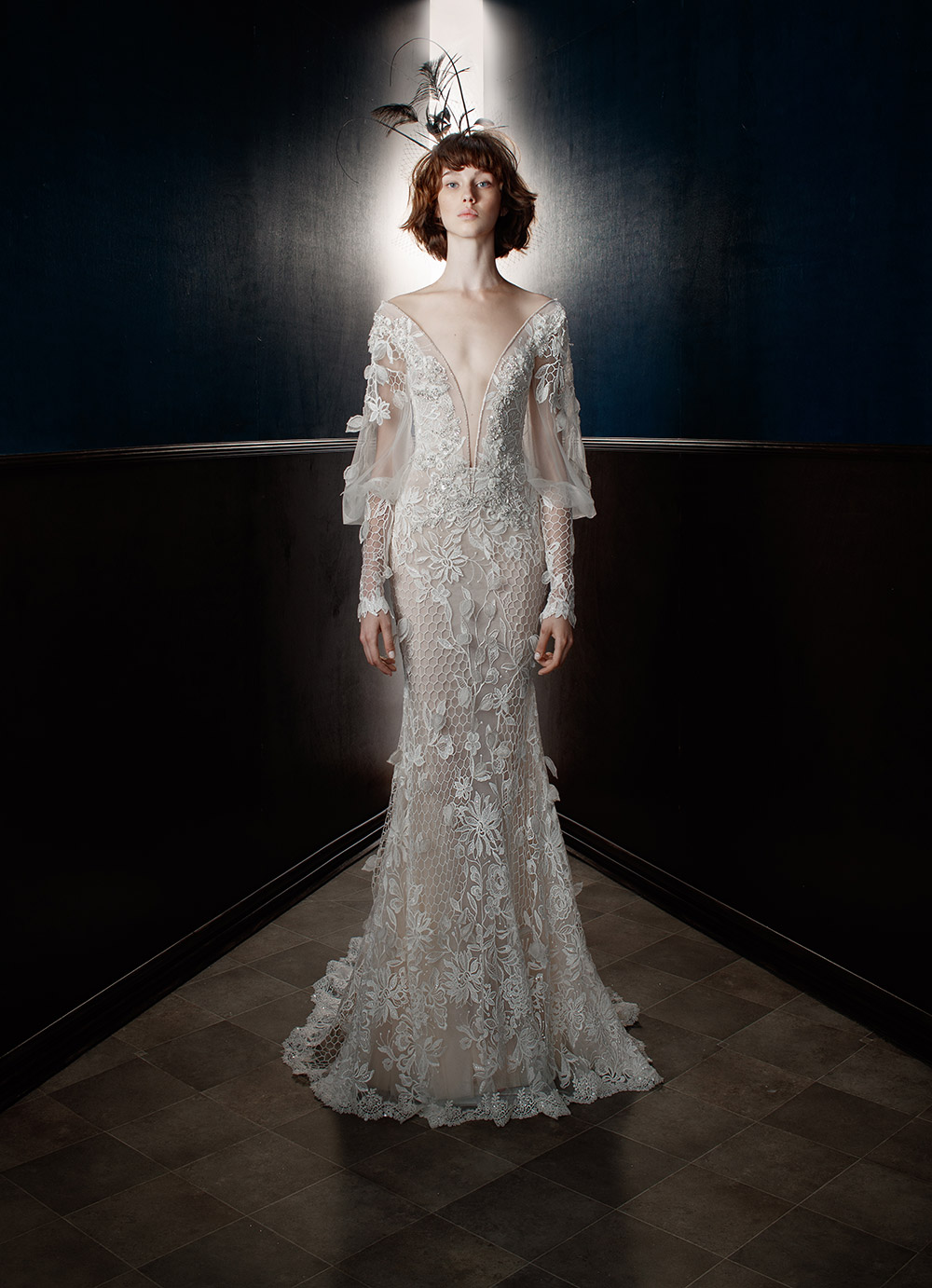Lia - Galia Lahav Spring 2018 Bridal Collection. www.theweddingnotebook.com