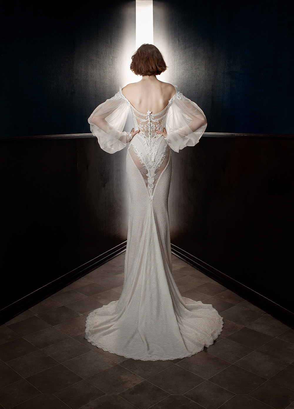 Thelma - Galia Lahav Spring 2018 Bridal Collection. www.theweddingnotebook.com