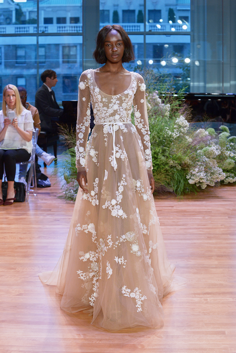 Alexia - Monique Lhuillier Fall 2017 Bridal Collection. www.theweddingnotebook.com
