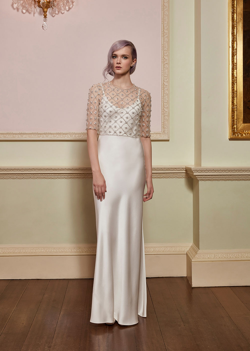 Angel & Allegra - Jenny Packham 2018 Bridal Collection. www.theweddingnotebook.com