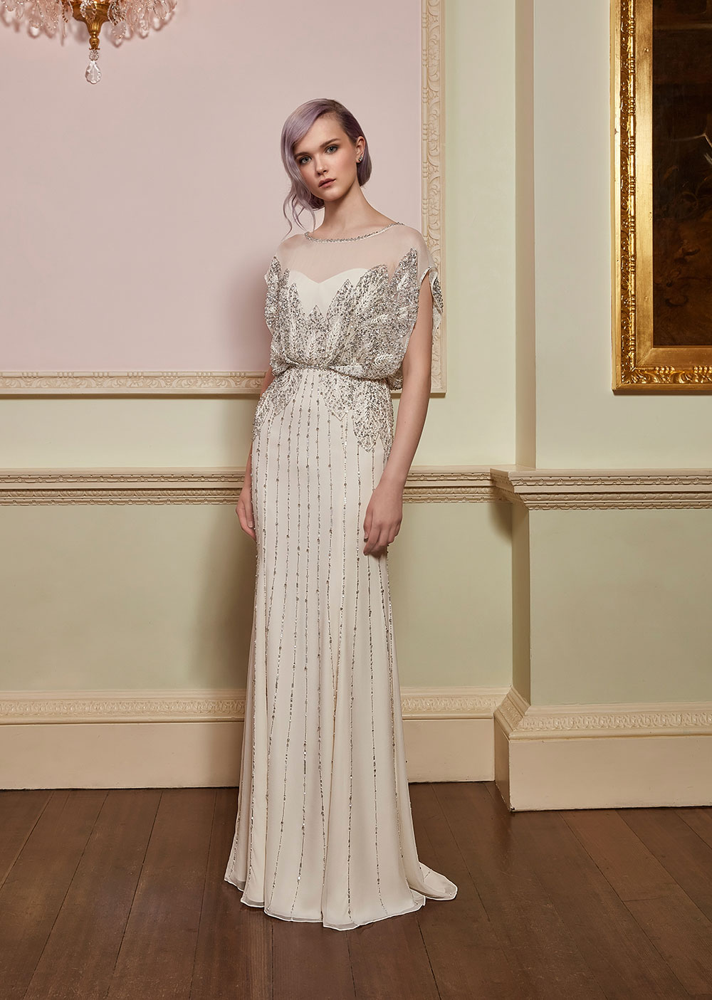 Spirit - Jenny Packham 2018 Bridal Collection. www.theweddingnotebook.com