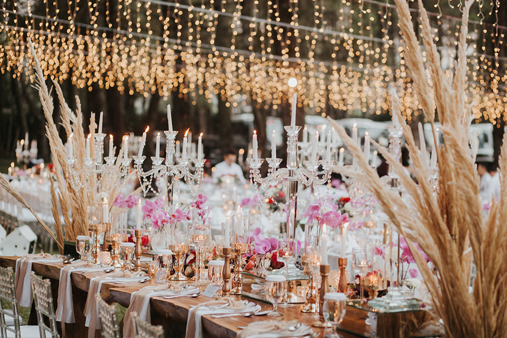 A magical forest wedding at pine forest camp bandung the wedding photo by iluminen theweddingnotebook junglespirit Gallery