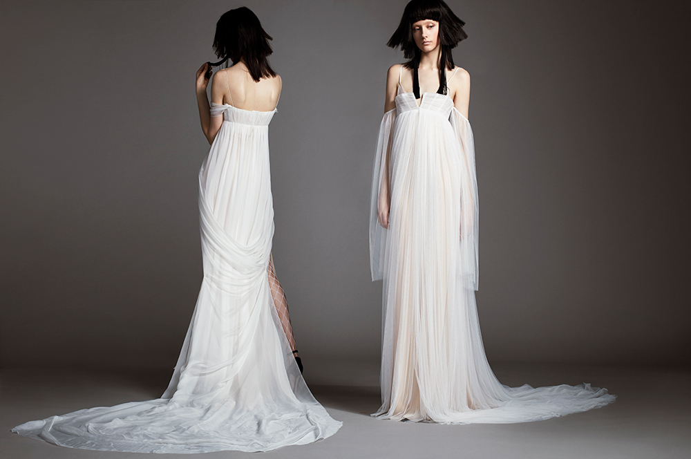 Chloe & Hortense - Vera Wang Spring 2018 Bridal Collection. www.theweddingnotebook.com