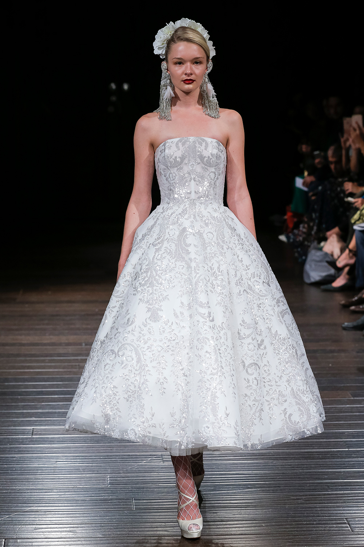 SOFIA - Naeem Khan 2018 Bridal Collection. www.theweddingnotebook.com