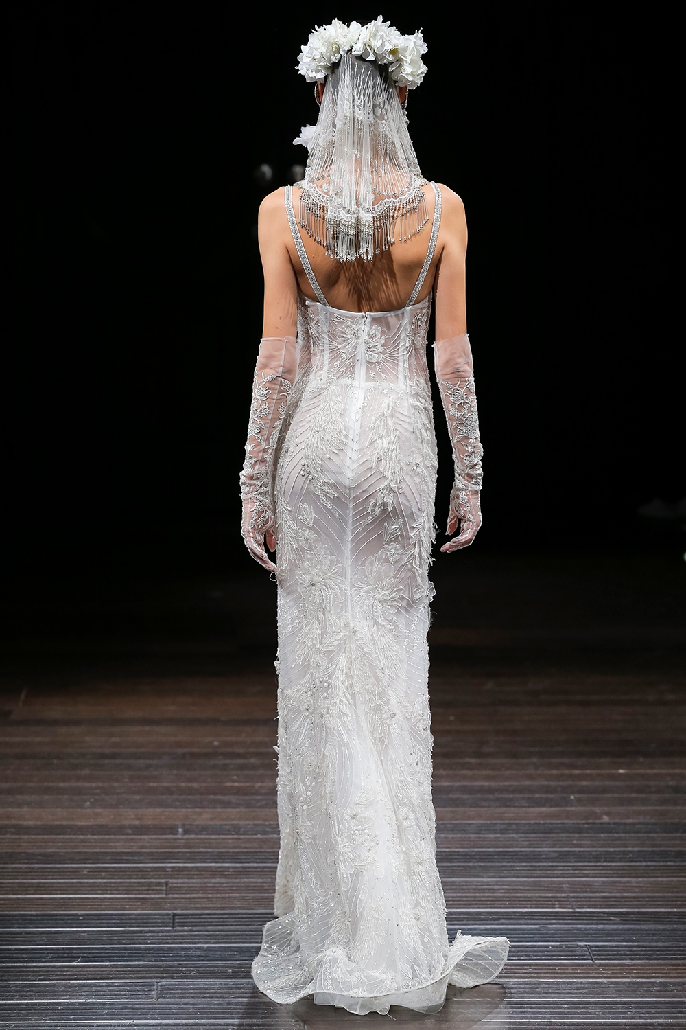 ARIZONA - Naeem Khan 2018 Bridal Collection. www.theweddingnotebook.com