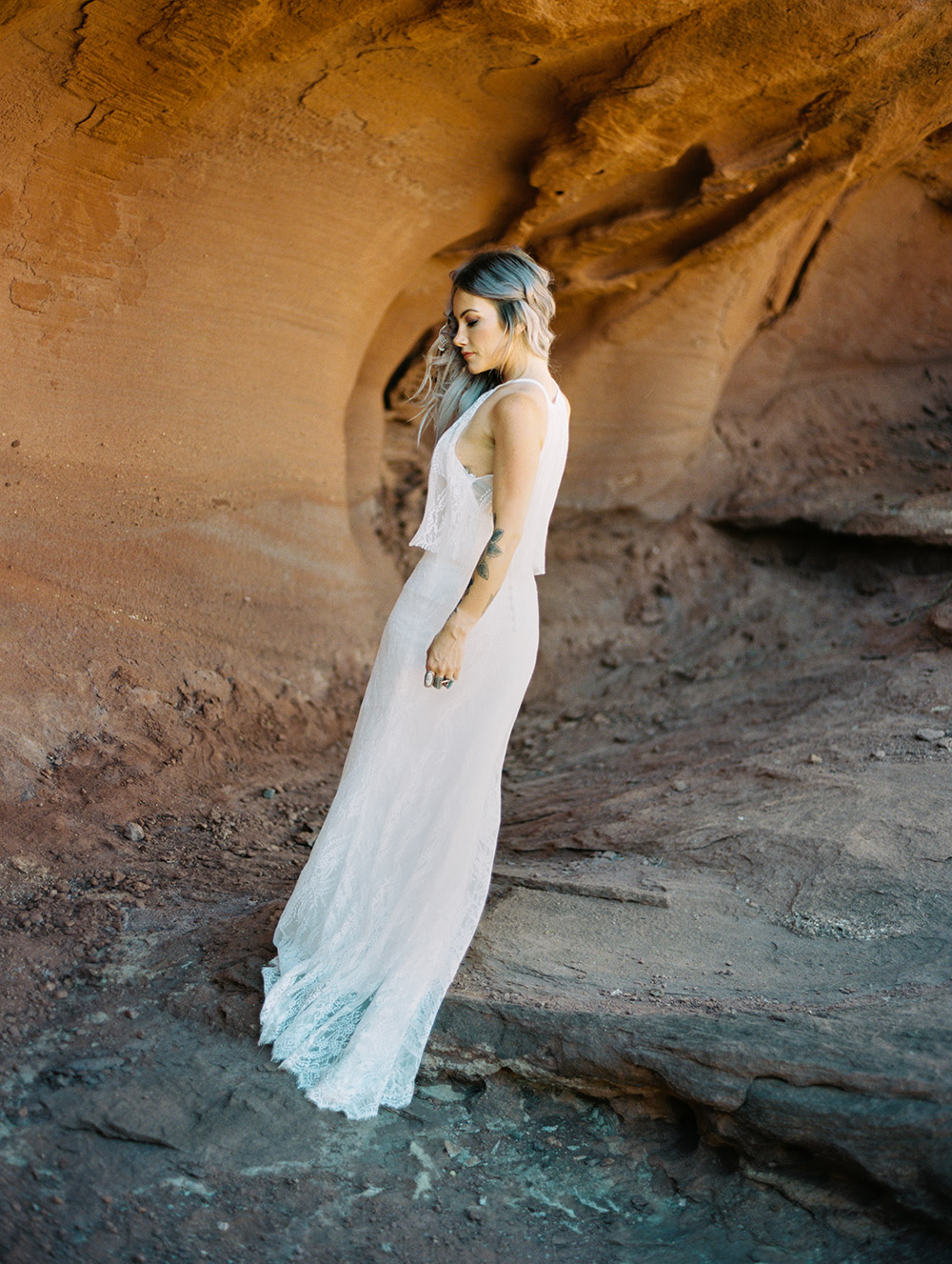 Jade - Wilderly Bride by Allure Bridals Spring 2018 Collection. www.theweddingnotebook.com