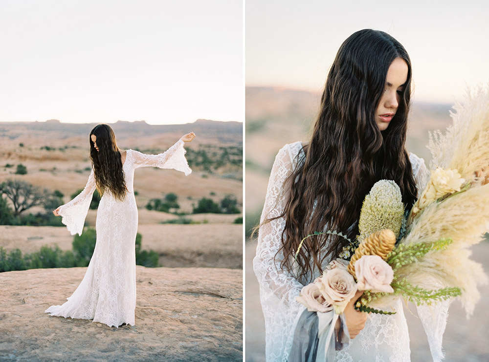 Sage - Wilderly Bride by Allure Bridals Spring 2018 Collection. www.theweddingnotebook.com