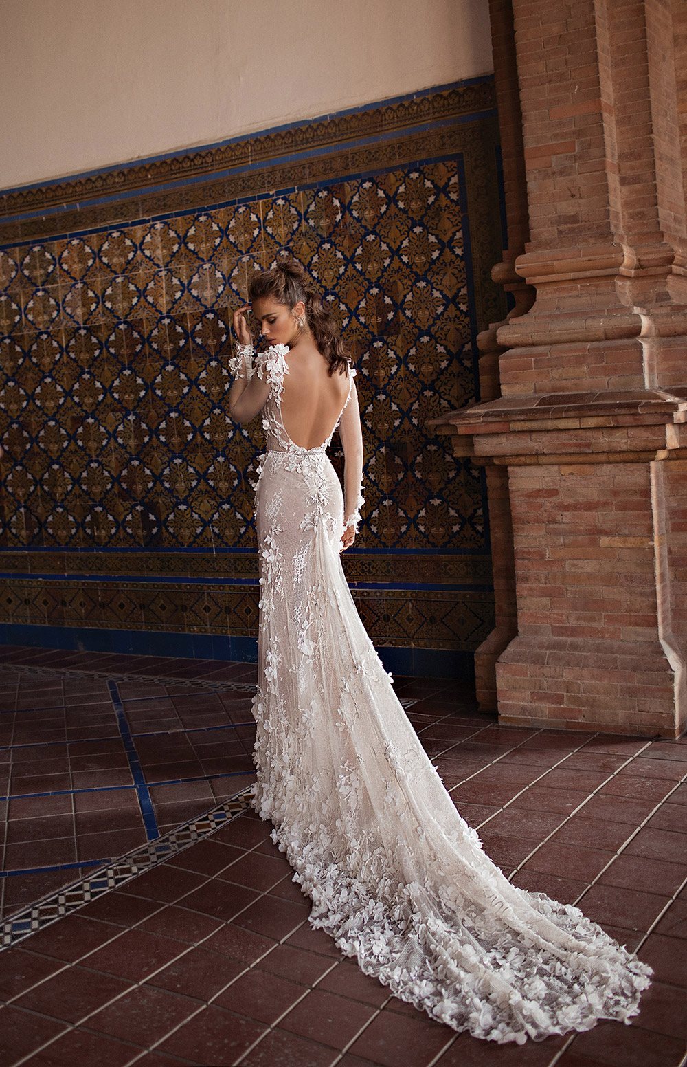 Berta Bridal Fall 2018 Collection. www.theweddingnotebook.com