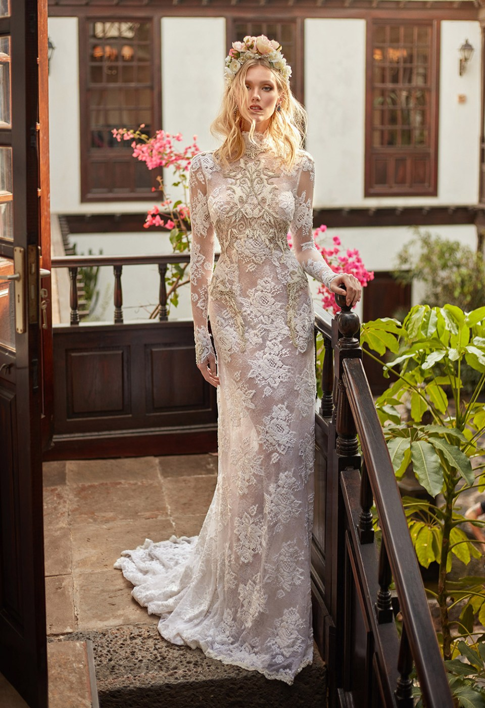 Snow in Summer - Galia Lahav Couture Fall 2018 Bridal Collection. www.theweddingnotebook.com