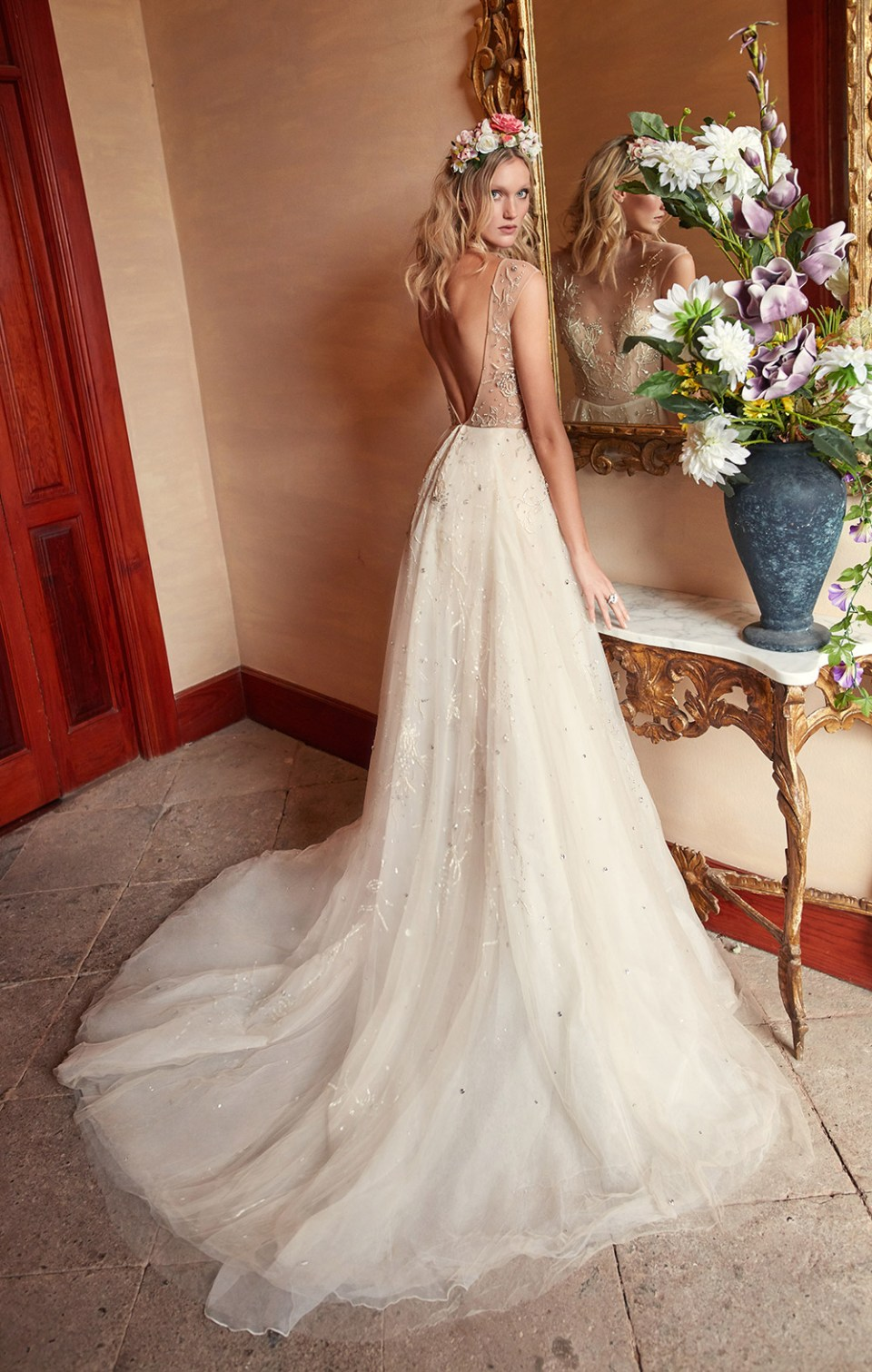 Rose Water - Galia Lahav Couture Fall 2018 Bridal Collection. www.theweddingnotebook.com