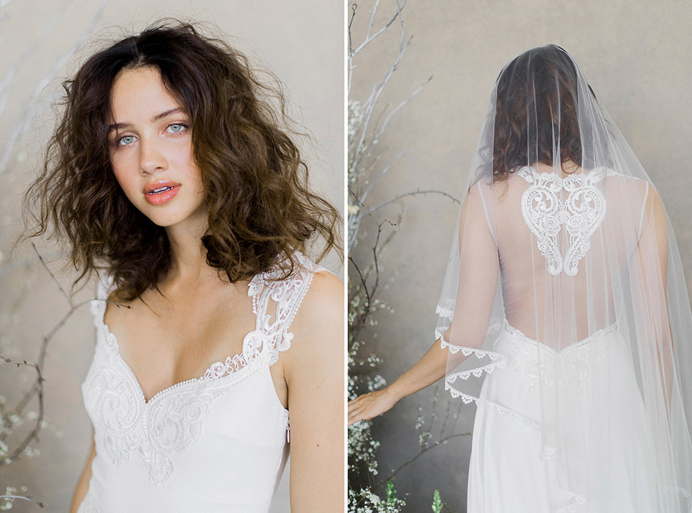 Swan – Claire Pettibone Spring 2019 Bridal Collection. www.theweddingnotebook.com