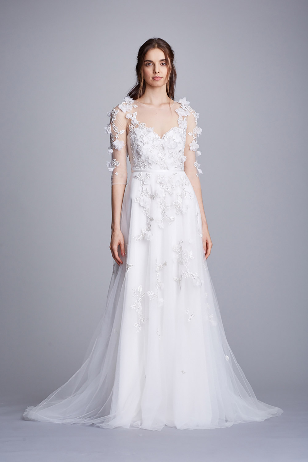 Marchesa Notte Fall 2018. www.theweddingnotebook.com