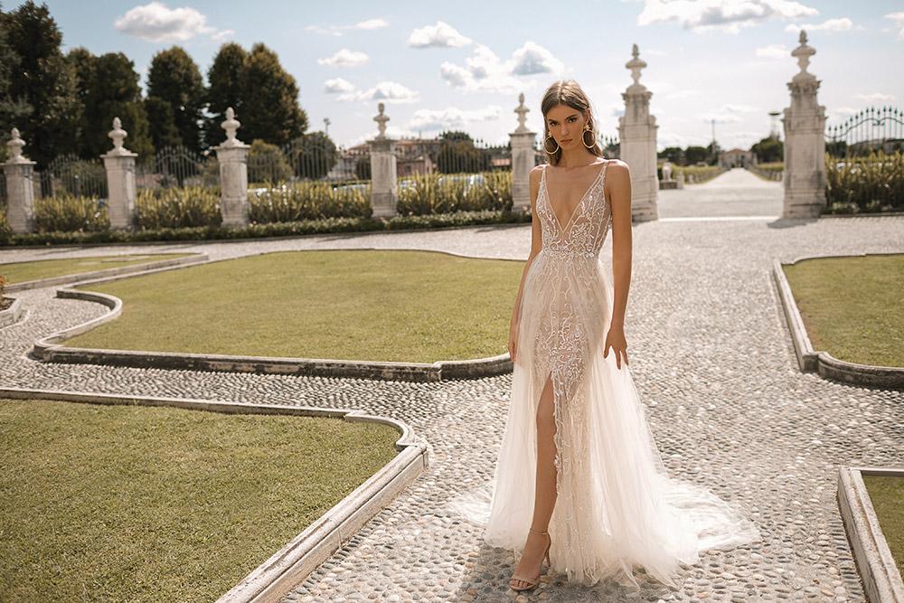 BERTA Privee Fall 2019 Bridal Collection. www.theweddingnotebook.com