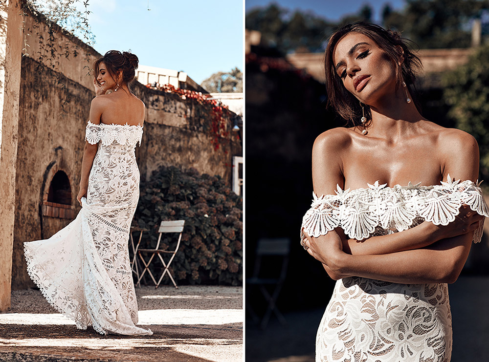 Cien - Grace Loves Lace 2018 Bridal Collection. www.theweddingnotebook.com