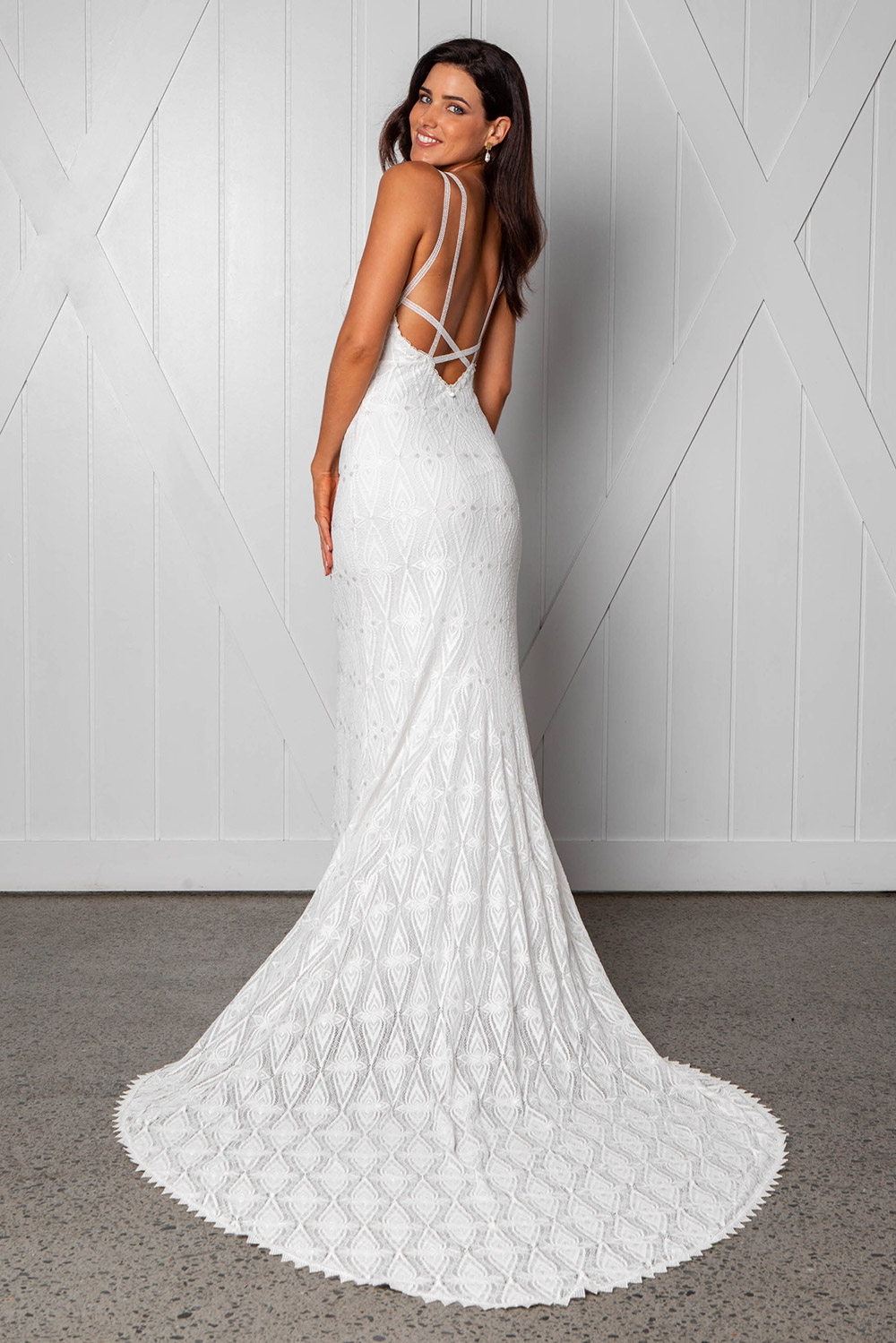 Leon - Grace Loves Lace 2018 Bridal Collection. www.theweddingnotebook.com