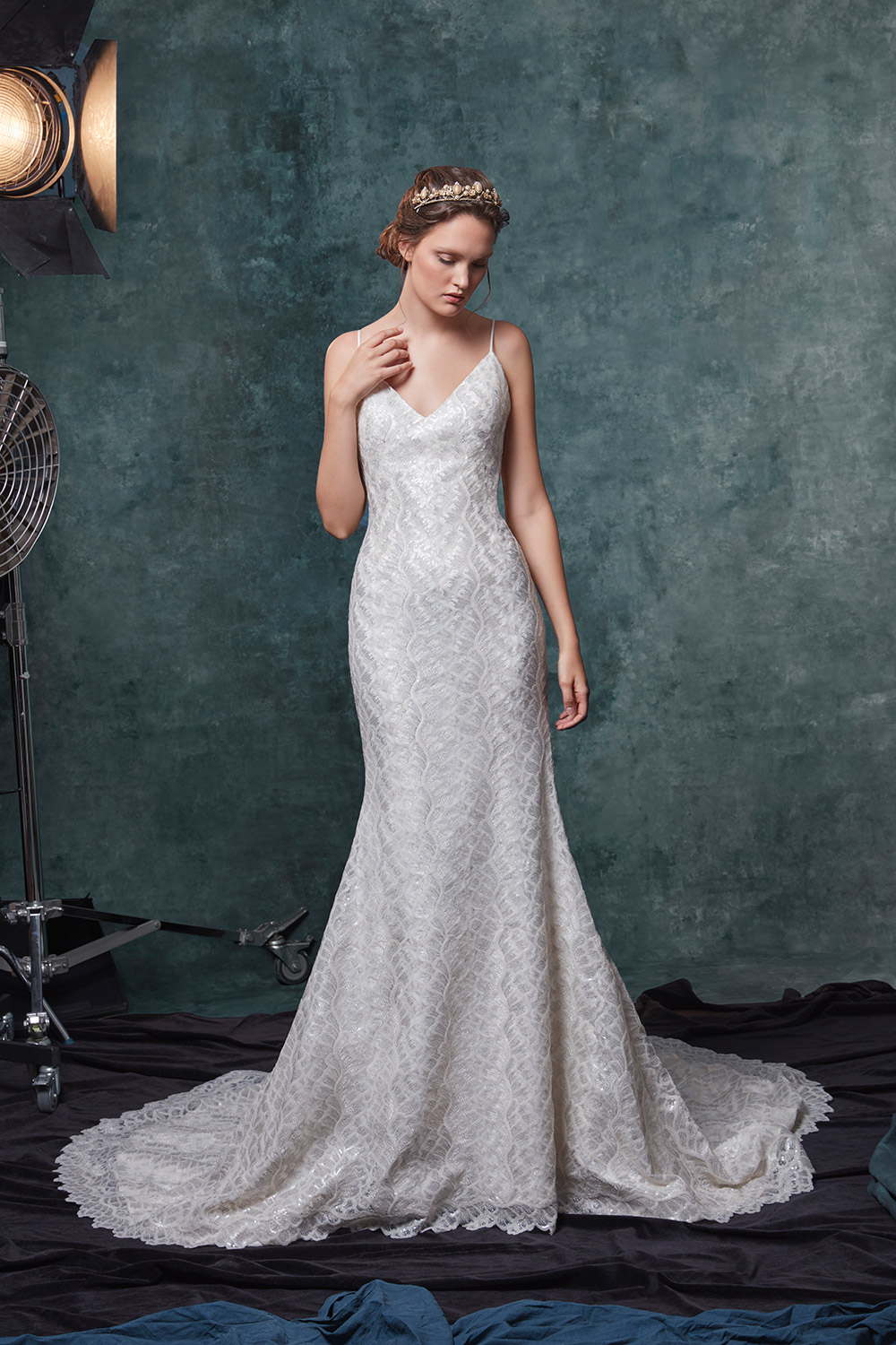 Charlize - Sareh Nouri Fall 2019 Bridal Collection. www.theweddingnotebook.com