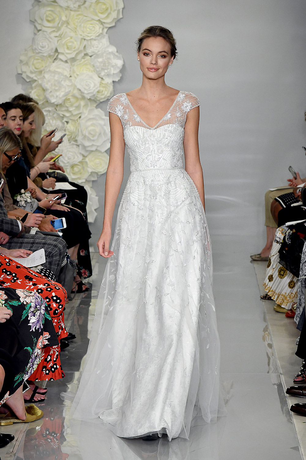 Prunella - Theia Fall 2019 Bridal Collection. www.theweddingnotebook.com