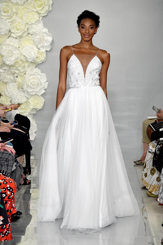 Fleur - Theia Fall 2019 Bridal Collection. www.theweddingnotebook.com