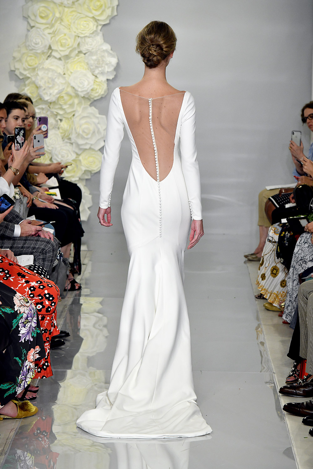 Flora - Theia Fall 2019 Bridal Collection. www.theweddingnotebook.com