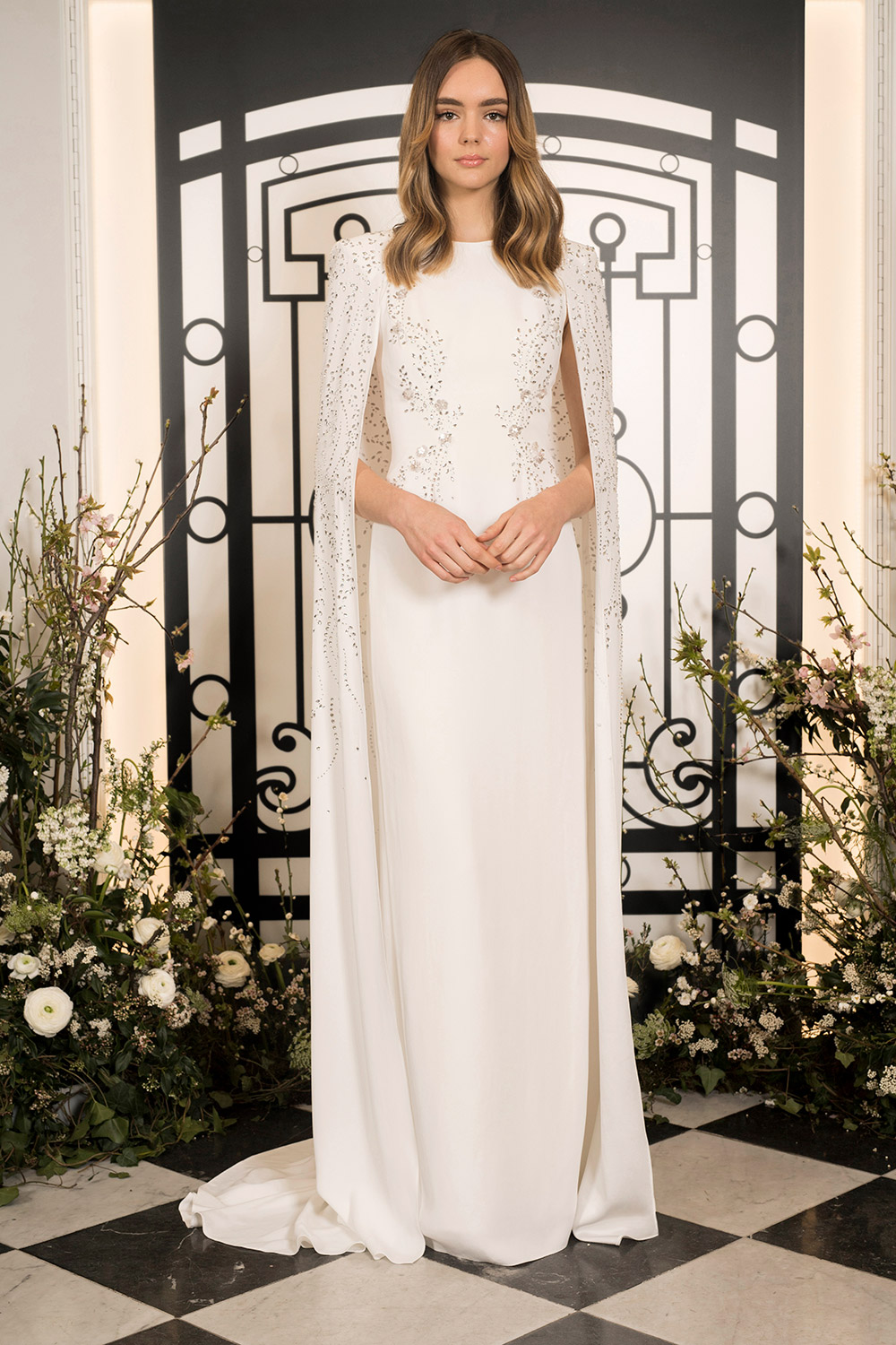 Farrah - Jenny Packham 2020 Bridal Collection. www.theweddingnotebook.com