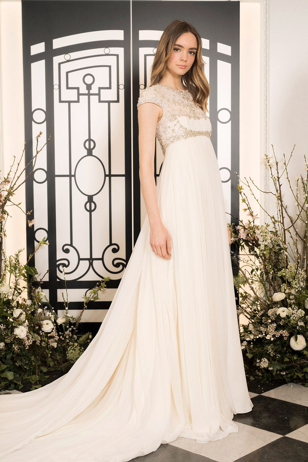 Brigitte - Jenny Packham 2020 Bridal Collection. www.theweddingnotebook.com