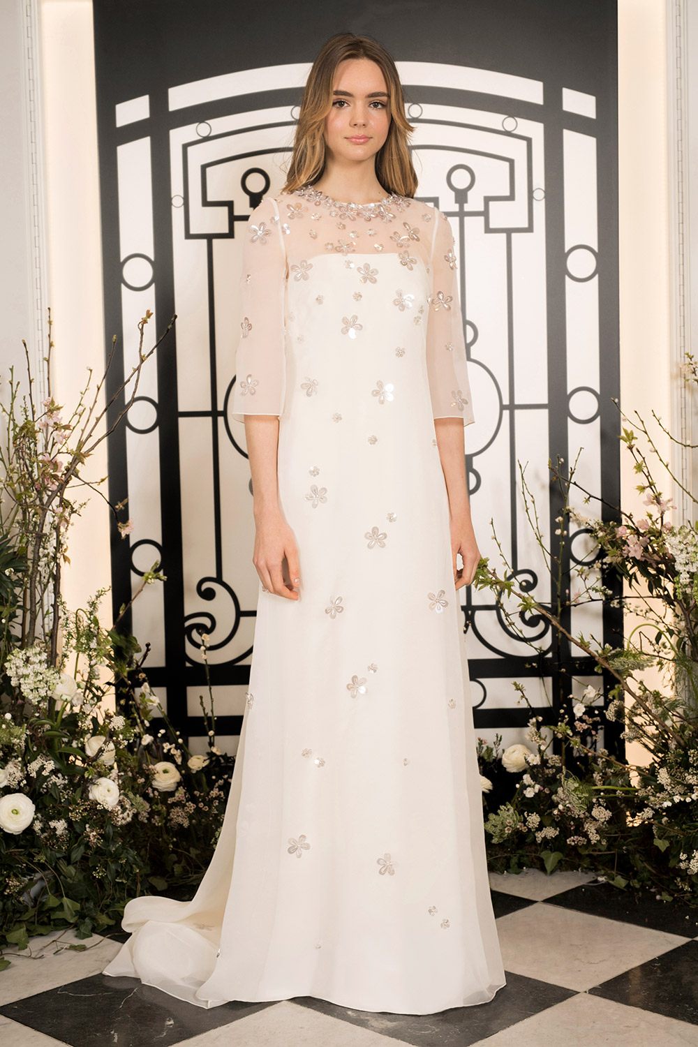Flores & Ame - Jenny Packham 2020 Bridal Collection. www.theweddingnotebook.com