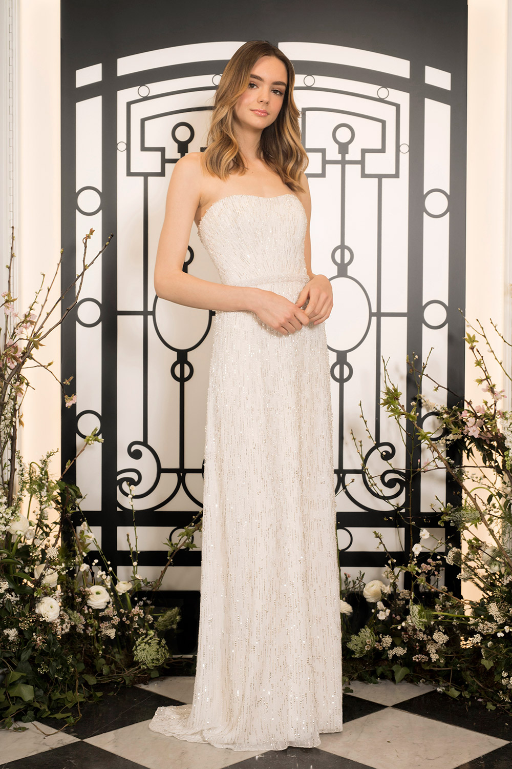 Bianca - Jenny Packham 2020 Bridal Collection. www.theweddingnotebook.com