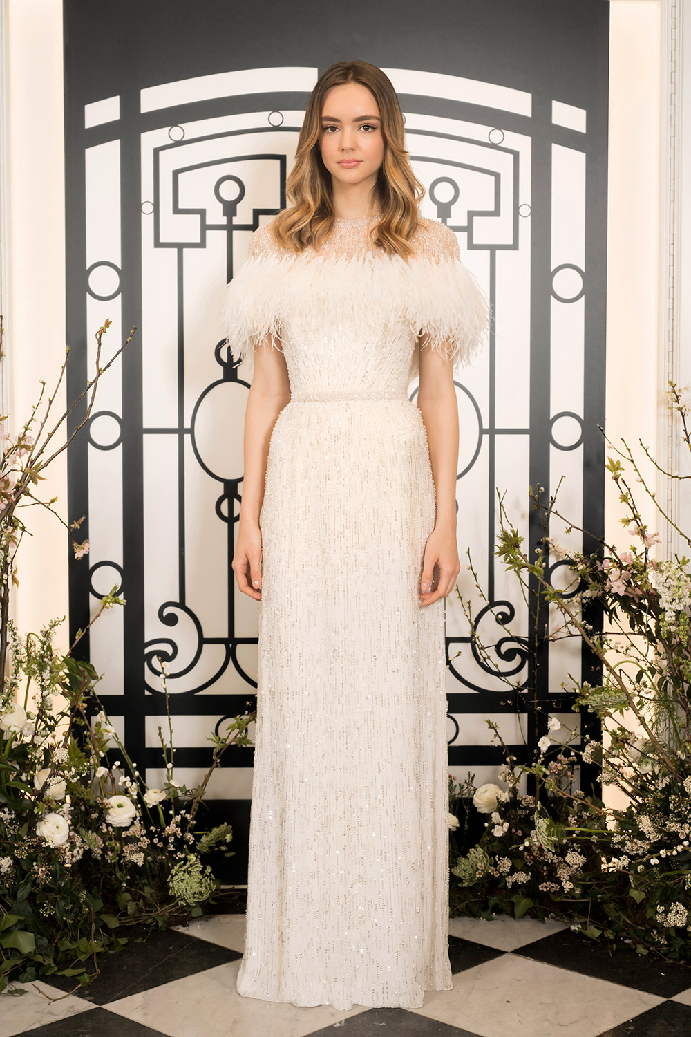 Bianca & Jagger - Jenny Packham 2020 Bridal Collection. www.theweddingnotebook.com