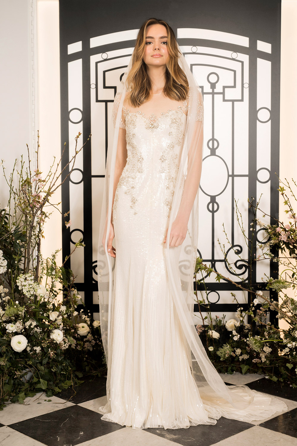 Amalia - Jenny Packham 2020 Bridal Collection. www.theweddingnotebook.com