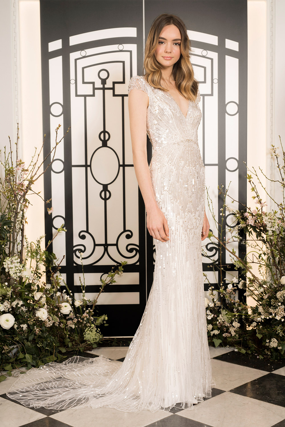 Jackie - Jenny Packham 2020 Bridal Collection. www.theweddingnotebook.com
